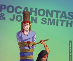 Pocahontas w innej wersji