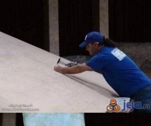 Da Vinci z gwoździ