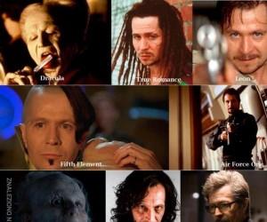Prawdziwy kameleon wśród aktorów