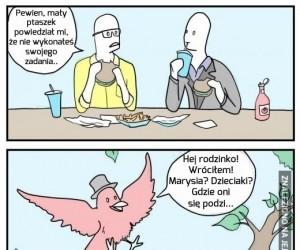 Mały ptaszek powiedział mi...