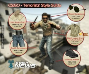 Stylówka na terrorystę z CS