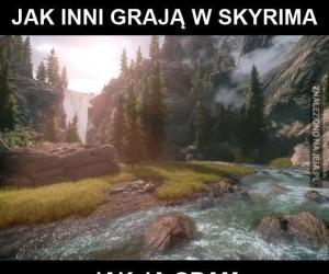 Jak inni grają w Skyrima