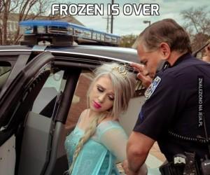 Frozen is over