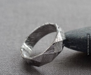 Pierścionek z meteorytu