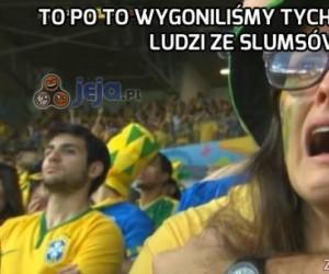 Pierwsza reakcja Brazylijczyków po meczu z Niemcami