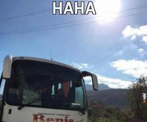 Autobusowy benis