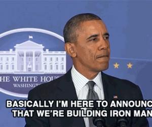 Obama przyznaje, że USA buduje Iron Mana!
