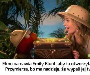 Elmo nie lubi, gdy ktoś kradnie mu show