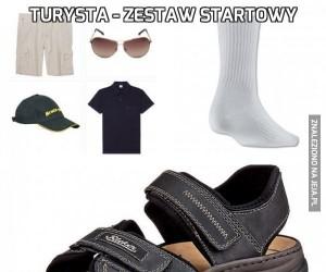 Turysta - zestaw startowy