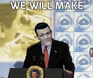 Robbie na prezydenta!