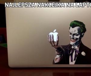 Najlepsza naklejka na laptopa