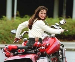 Laska na motorze...