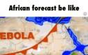 Prognoza pogody w Afryce