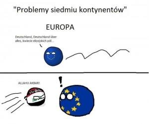 Problemy siedmiu kontynentów