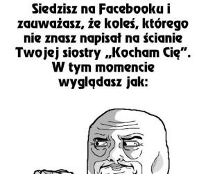 Na Facebooku Twojej siostry