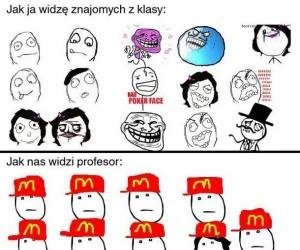 Nasza klasa okiem profesora