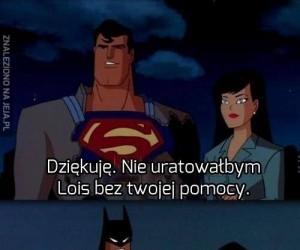 Batman taki skromny...