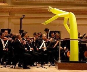 Takiego dyrygenta to bym nie chciał