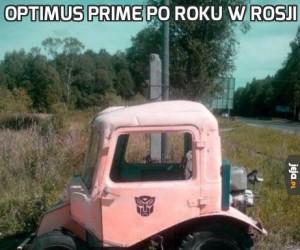 Optimus Prime po roku w Rosji