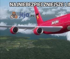 Najniebezpieczniejsze linie lotnicze