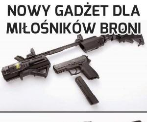 Uniwersalny pistolet