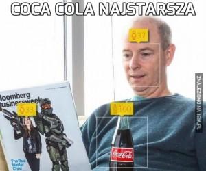 Coca Cola najstarsza