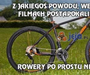 Filmy postapokaliptyczne i rowery