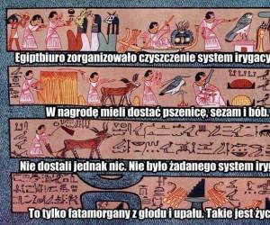 Takie tam, odczytywanie hieroglifów...
