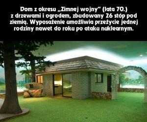 Dom z czasów Zimnej wojny