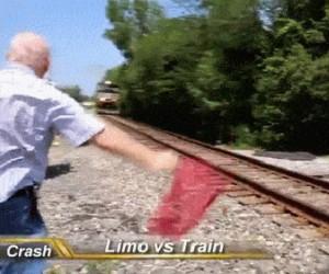 Limuzyna vs pociąg