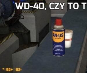 WD-40, czy to Ty?