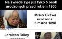 5 najstarszych ludzi na świecie