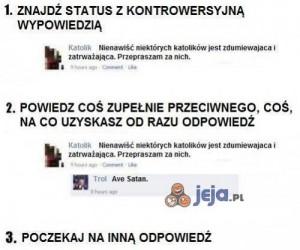 Jak trollować na fb