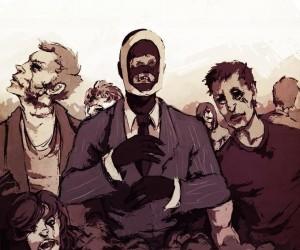 Szpieg jest przygotowany na apokalipsę zombie