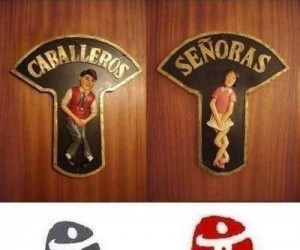 Oznaczenia toalet