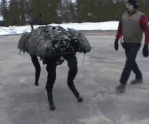 Big Dog - Robot z BostonDynamics