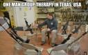 Grupowa terapia w Teksasie
