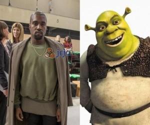 Kanye i Shrek mają tego samego stylistę