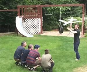 Lot koszący
