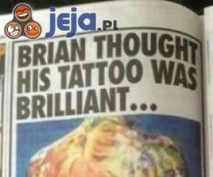 Myślał, że ma super tatuaż, póki nie trafił do więzienia