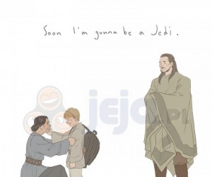 Już niedługo zostanę Jedi...