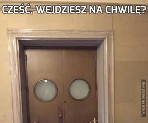 Cześć, wejdziesz na chwilę?