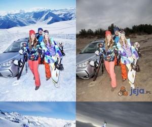 Tajemnica reklam odzieży zimowej