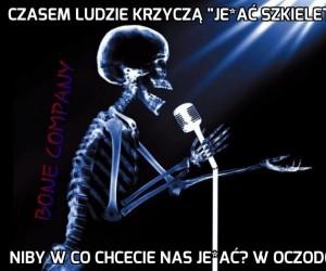 Szkieletowy stand up