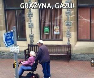 Grażyna, gazu!