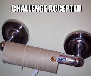 Wyzwanie zaakceptowano