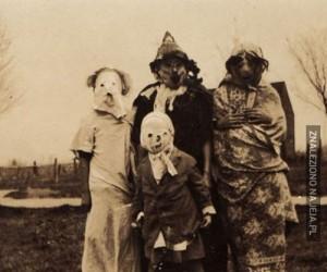 Jak kiedyś wyglądało Halloween