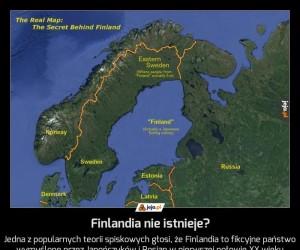 Finlandia nie istnieje?