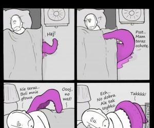 Kiedy twój potwór ma ochotę...