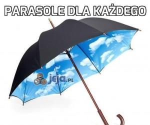 Parasole dla każdego